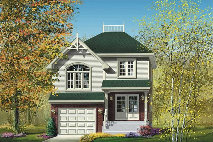 Main image for house plan # 12893