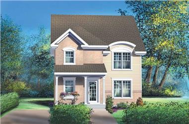 3-Bedroom, 1530 Sq Ft Ranch Home Plan - 157-1493 - Main Exterior