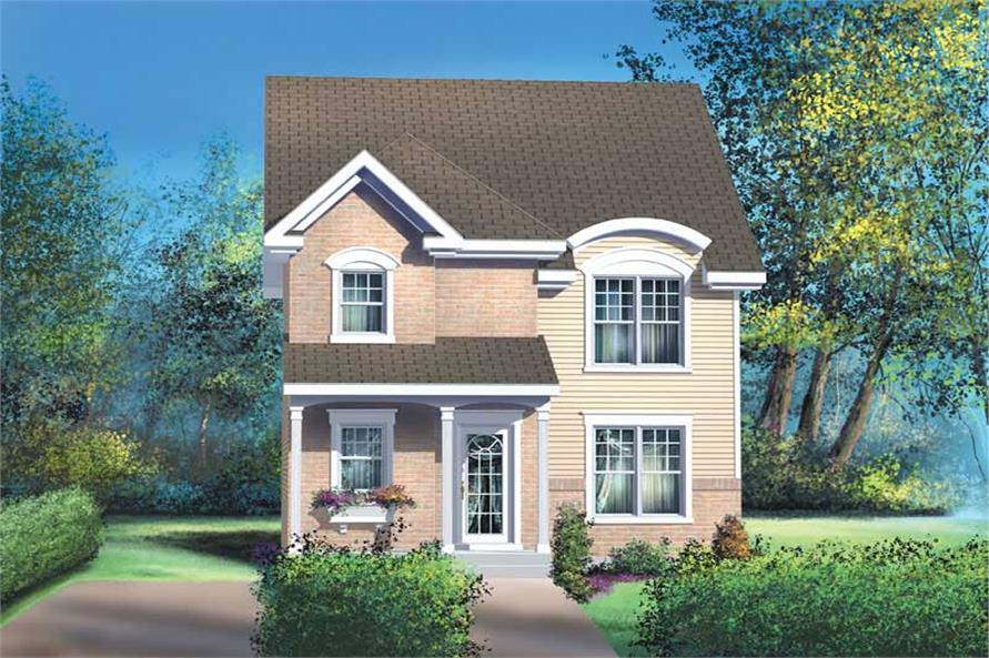 Main image for house plan # 12894