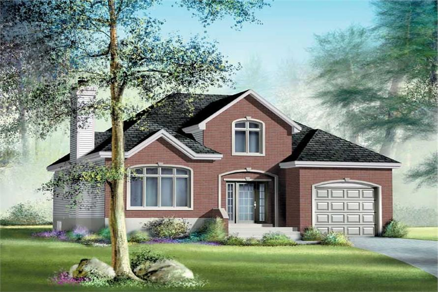 Main image for house plan # 12670