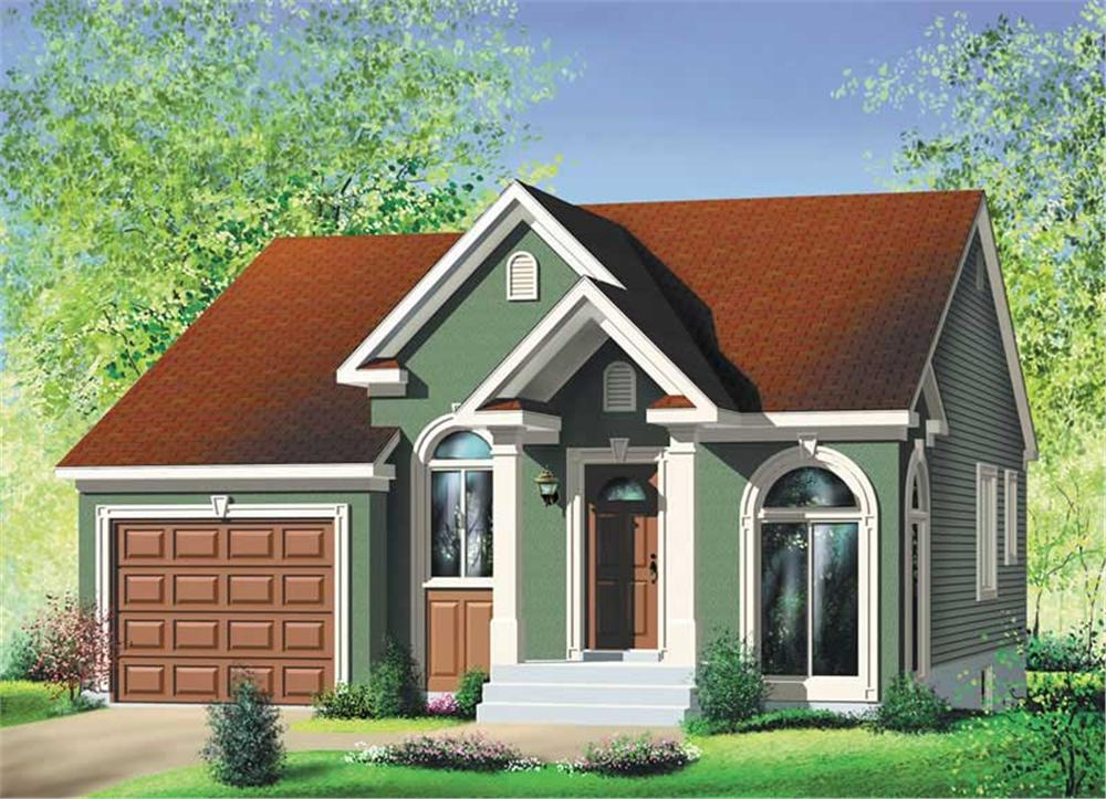 Main image for house plan # 12693