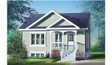 Main image for house plan # 12697
