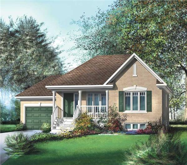Main image for house plan # 12707