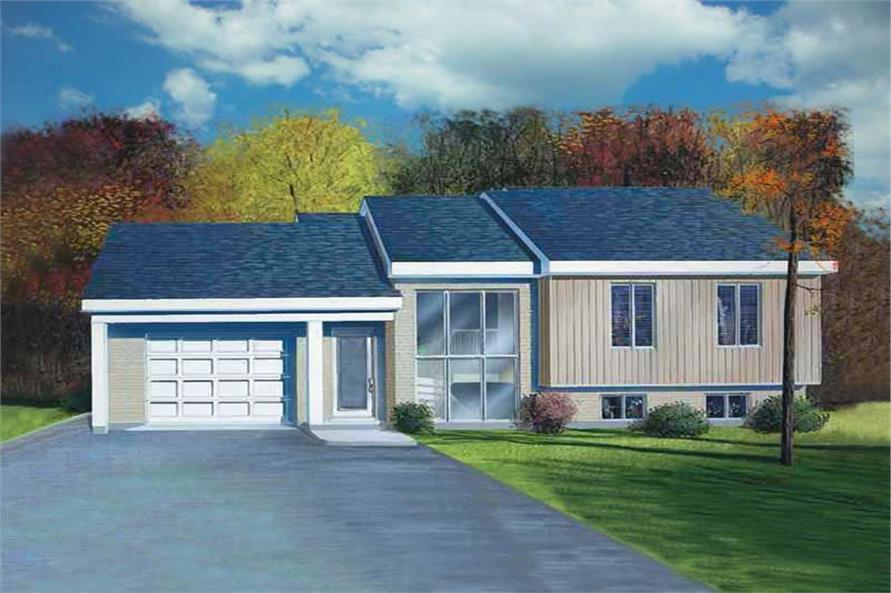 Main image for house plan # 12452