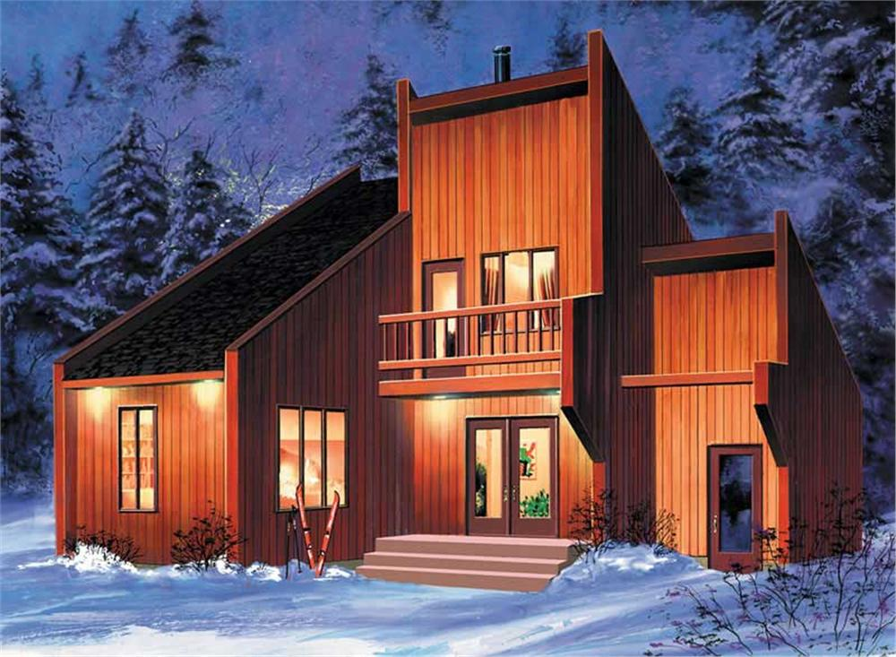 Main image for house plan # 12462
