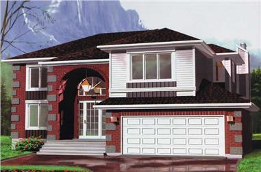 3-Bedroom, 2737 Sq Ft Craftsman Home Plan - 157-1511 - Main Exterior