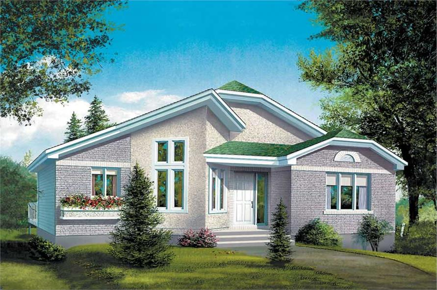 Main image for house plan # 12465