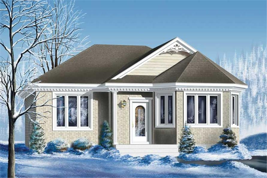 Main image for house plan # 12730
