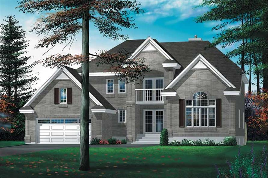 Main image for house plan # 12478