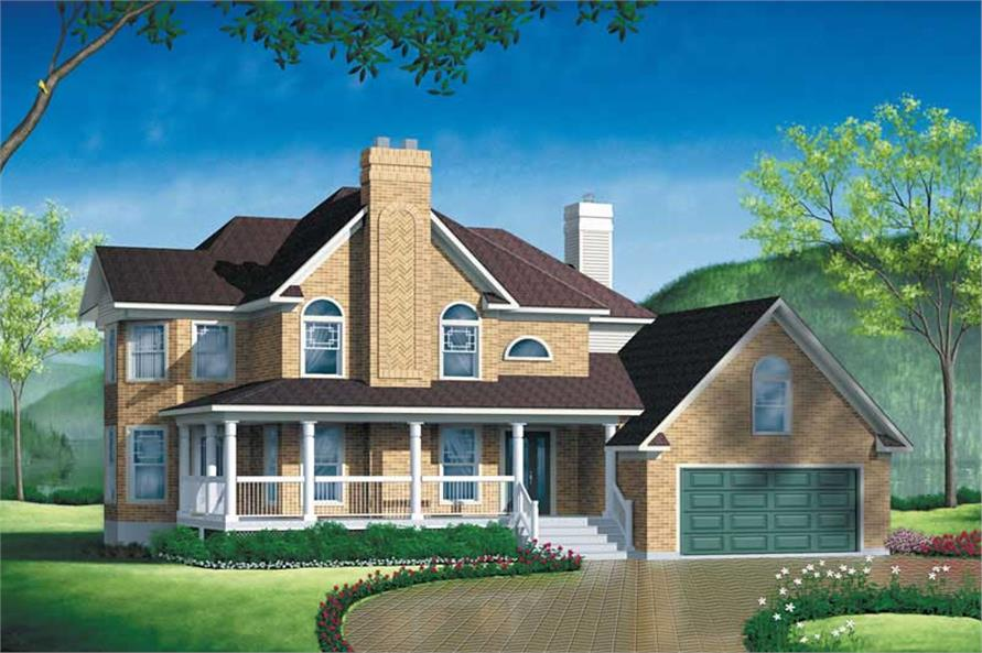 Main image for house plan # 12486
