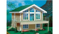 Main image for house plan # 12487
