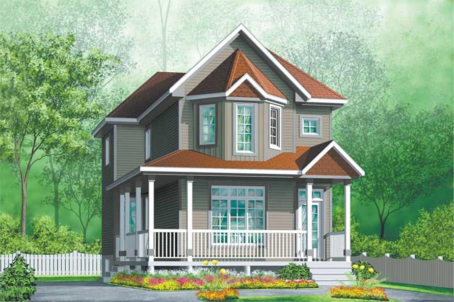 Main image for house plan # 12509