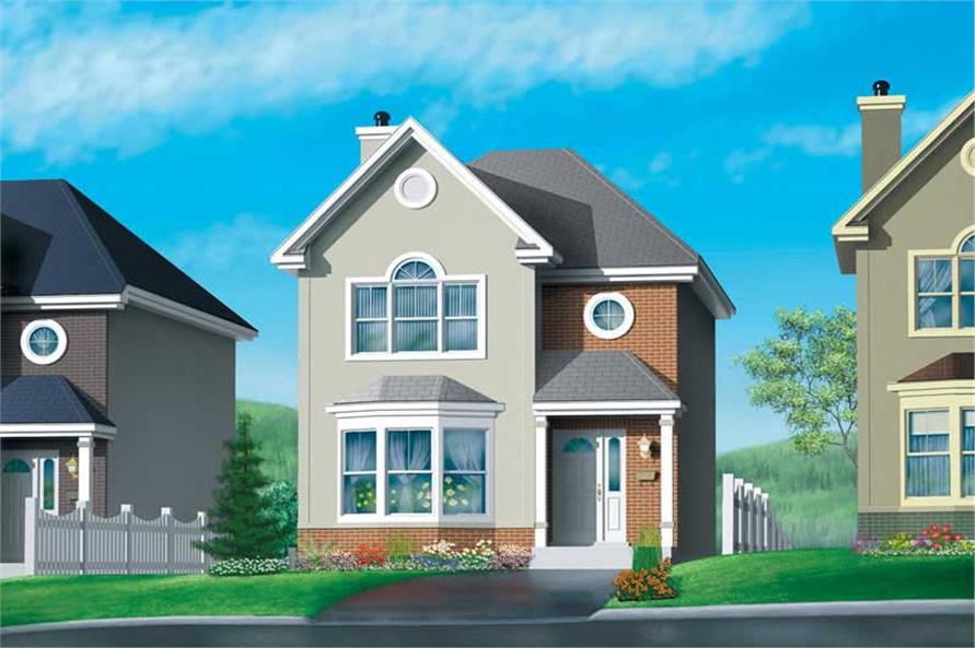 Main image for house plan # 12518