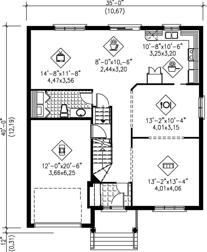 Traditional Colonial House Plans Home Design Pi 07156