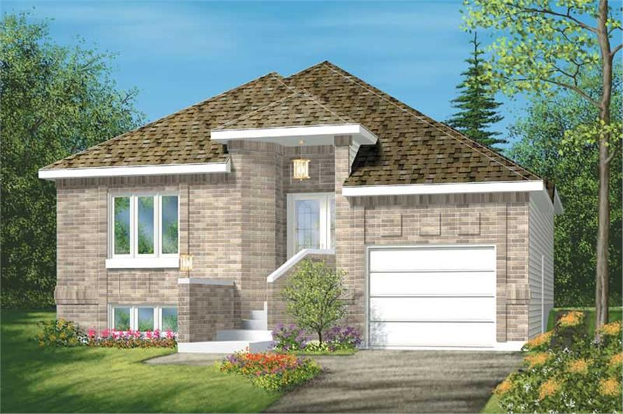Main image for house plan # 12538