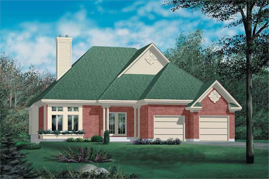 Main image for house plan # 12517