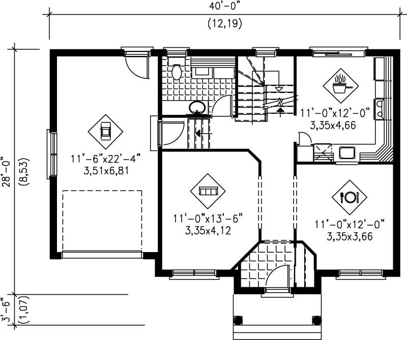Small Multi Level House Plans Home Design Pi 20468 12923