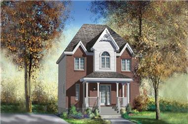 3-Bedroom, 1740 Sq Ft Ranch House Plan - 157-1560 - Front Exterior