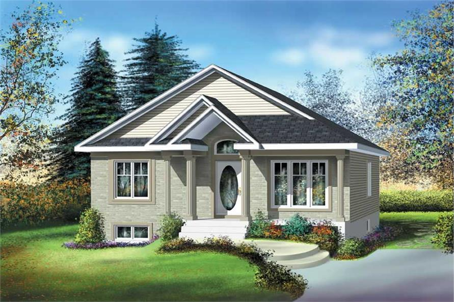 Main image for house plan # 12663