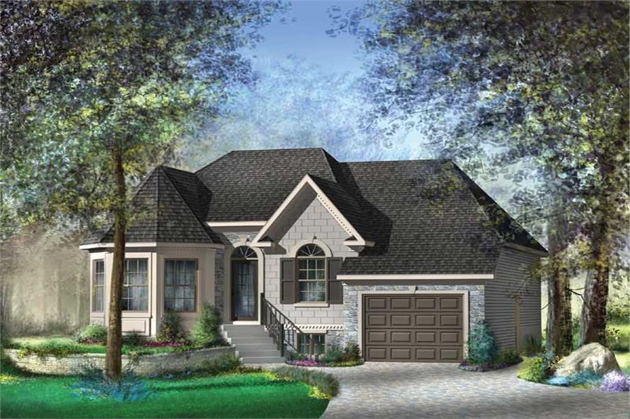 Main image for house plan # 12673