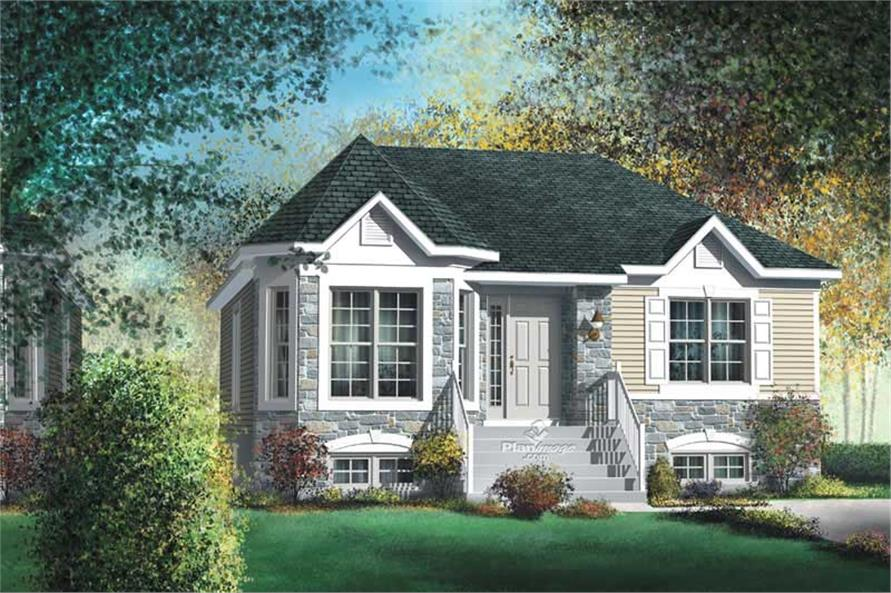 Main image for House Plan #157-1567