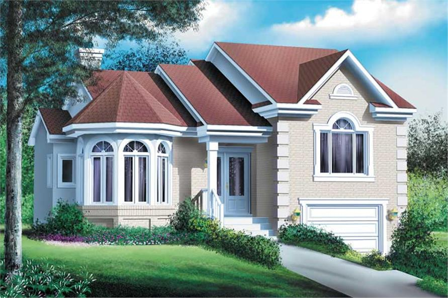 Main image for house plan # 12735