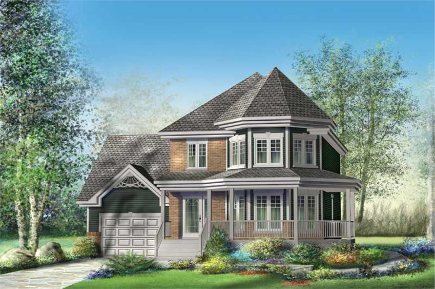 Main image for house plan # 12931
