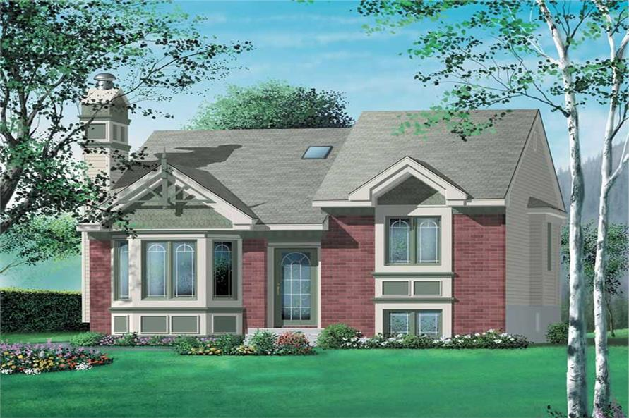 Main image for house plan # 12344