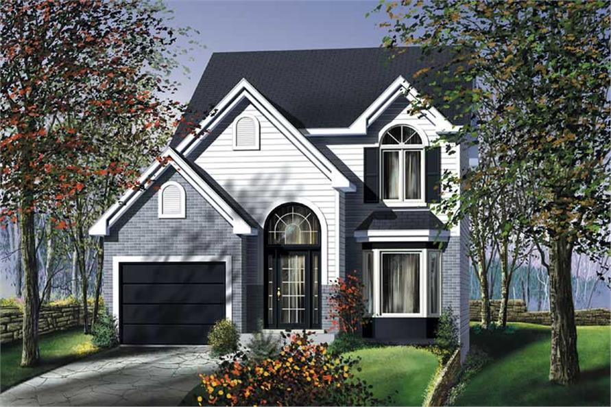 2-Bedroom, 1302 Sq Ft Ranch Home Plan - 157-1578 - Main Exterior