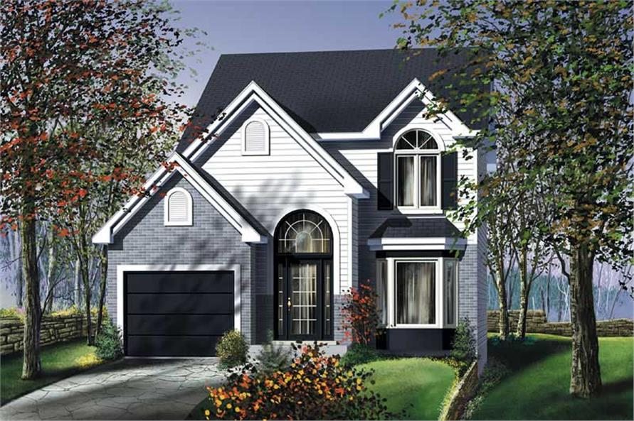 Main image for house plan # 12962