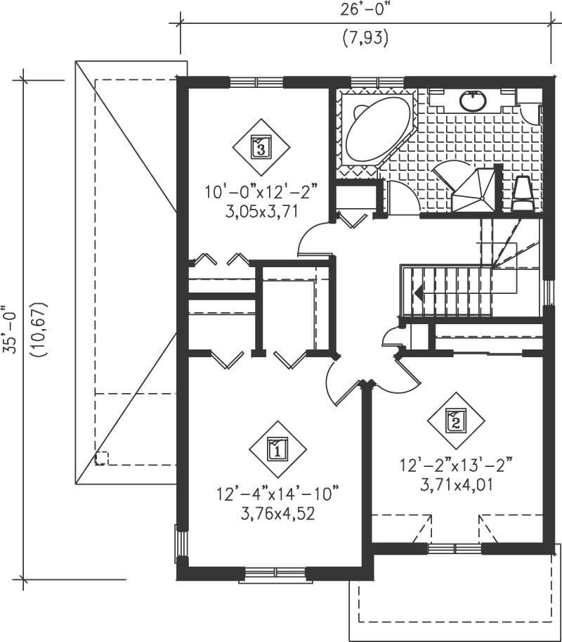 Multi Level House Plans Home Design Pi 20961 12967