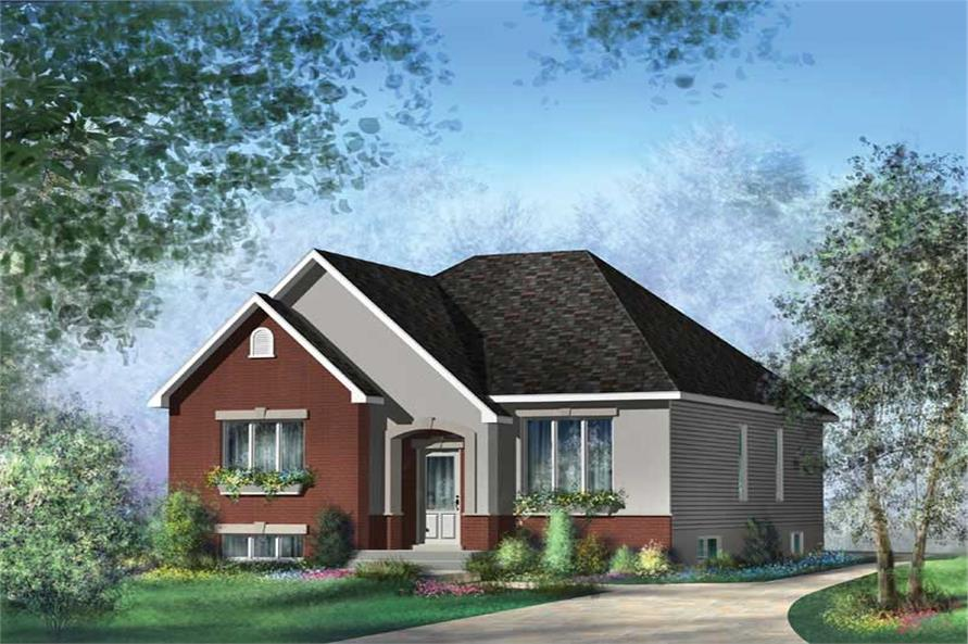 Main image for house plan # 12695