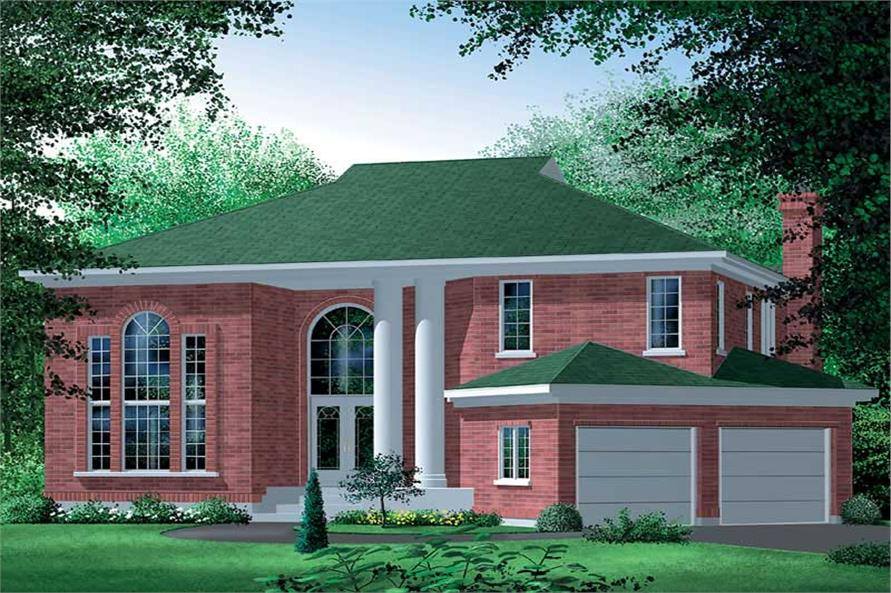 House Plan Small Home Design: Home Design PI-04826 # 12494