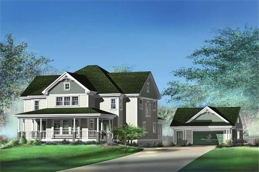 Main image for house plan # 12232