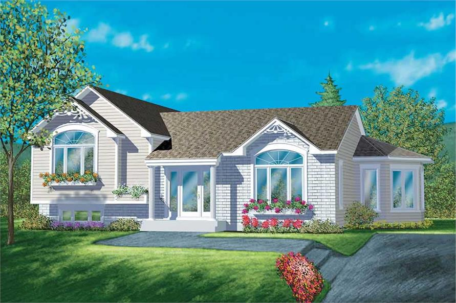 Main image for house plan # 12500