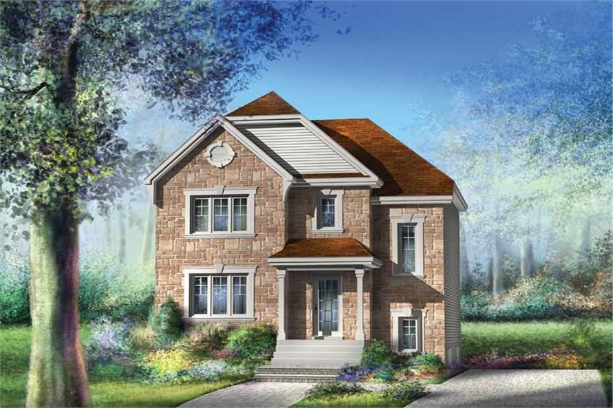3-Bedroom, 1536 Sq Ft Ranch Home Plan - 157-1600 - Main Exterior