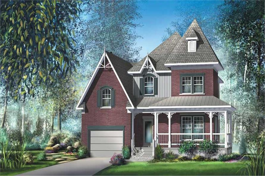 Main image for house plan # 12941