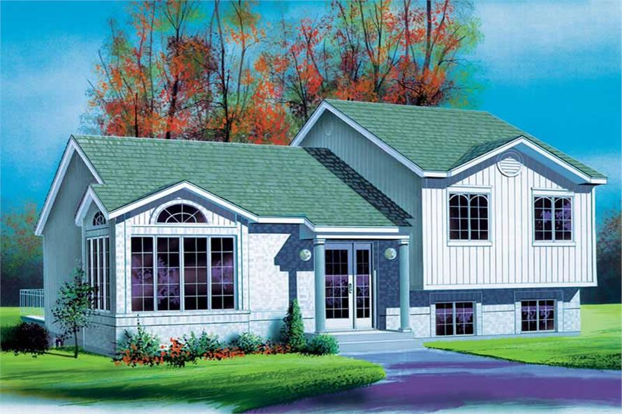 Main image for house plan # 12334