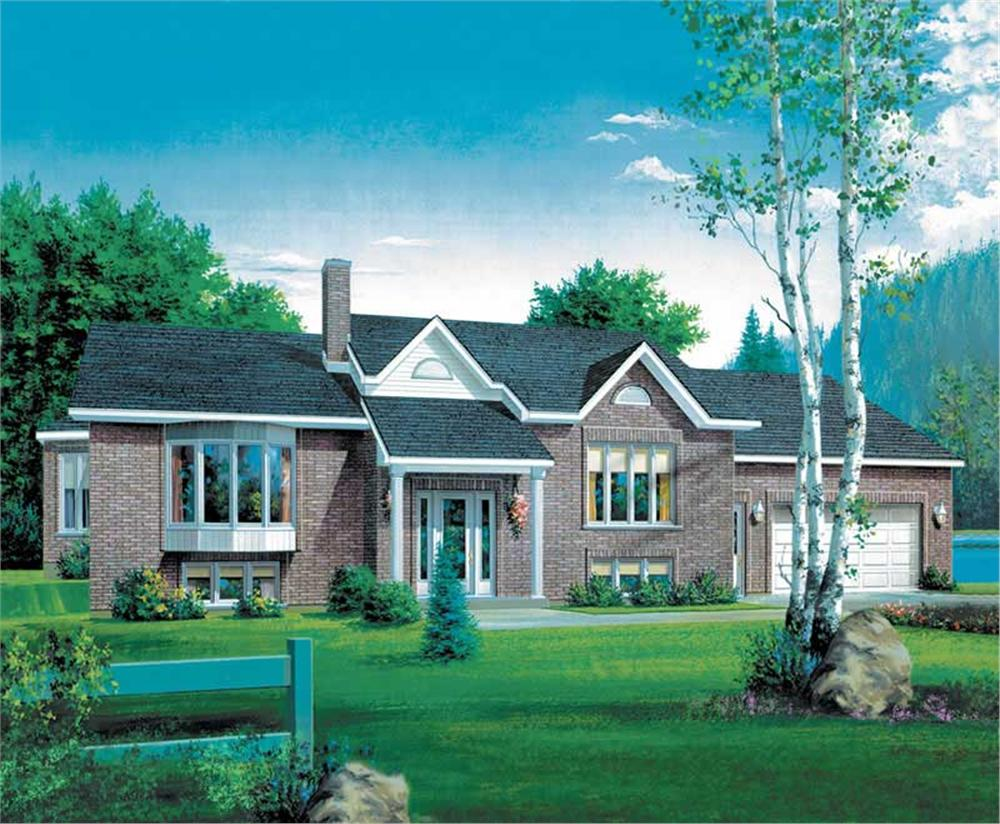 Main image for house plan # 12319
