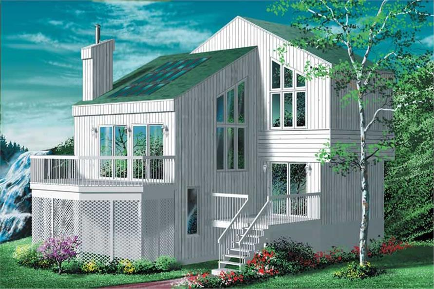 Main image for house plan # 12437