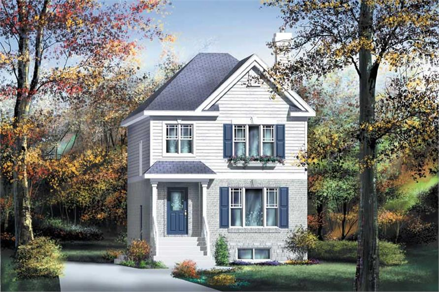 Main image for house plan # 12920