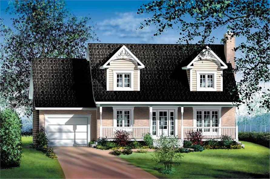 Main image for house plan # 12919