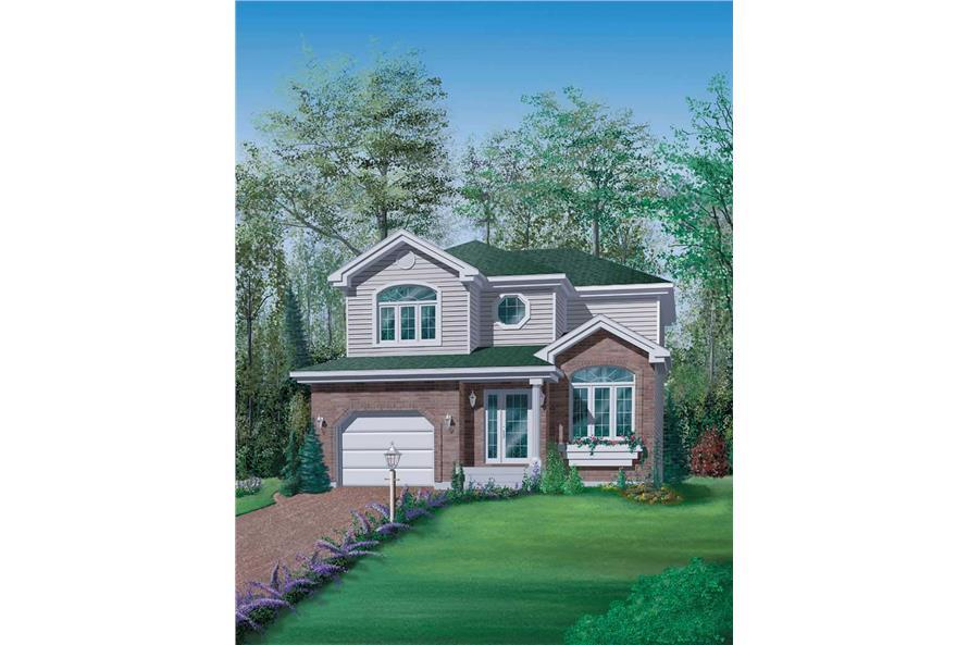 3-Bedroom, 1498 Sq Ft Craftsman House Plan - 157-1622 - Front Exterior