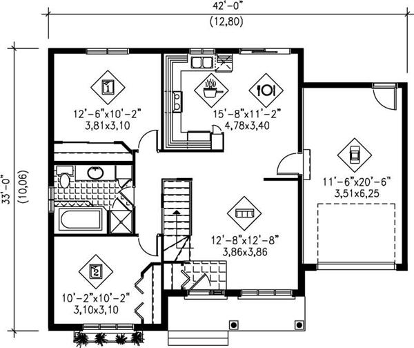 Images Floor Plans Home Plan 157 1623 Main Floor Plan