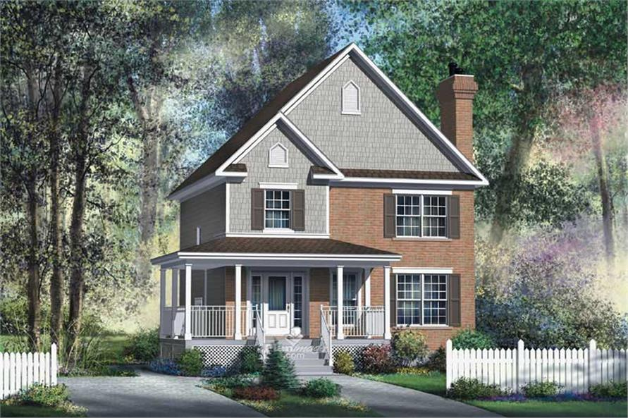 Main image for house plan # 12925