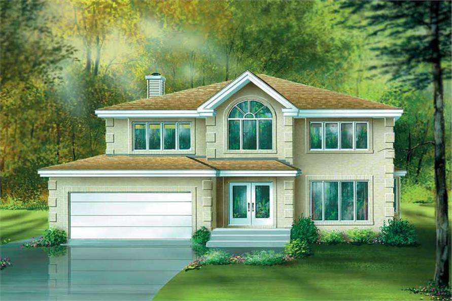 Main image for house plan # 12441