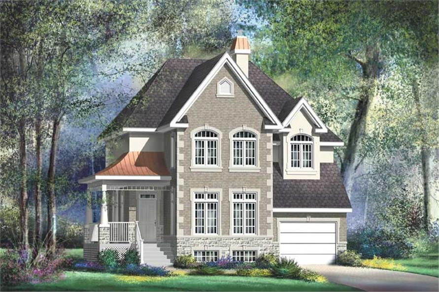 Main image for house plan # 12917