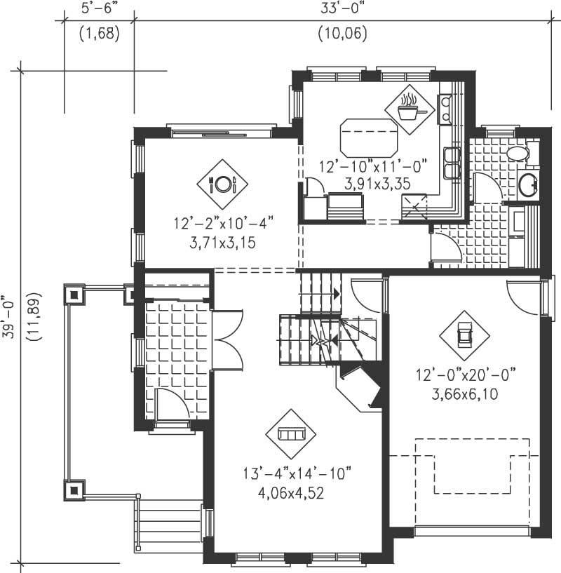 Multi level house plans home design pi 20401 12917 for Multi level floor plans