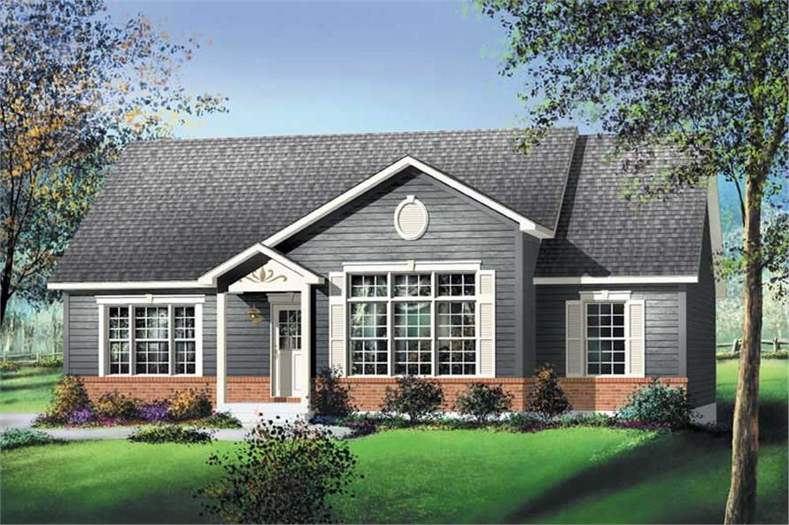 Main image for house plan # 12176