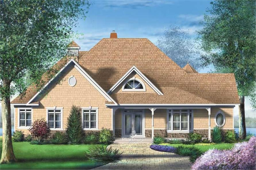 Main image for house plan # 12175